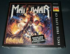 Manowar Hell on Stage Live  3 CD Metal Blade  original sealed w/ live in Germany