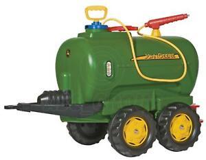 Rolly Toys - John Deere Water Tanker Twin Axle Trailer with Sprayer New