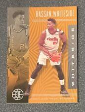 2019/20 Illusions Basketball Hassan Whiteside Orange Parallel Trail Blazers