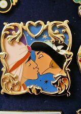Rare Vhtf Disney Pin The Kiss Aladin and Jasmine