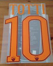 2016-17 Camisa Casa leyenda como Roma Totti #10 conjunto de número de nombre oficial stilscreen