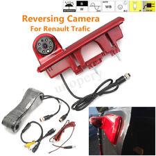 Rear View Reverse Camera 3RD Brake Light For Renault Trafic Vauxhall Vivaro Opel