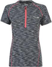 Dare 2b Womens/ladies Incisive Lightweight Short Sleeve Jersey 14 Grey