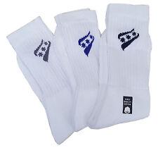 RUCANOR White Triple Pack Sport Socks With Logo UK 3 - 5 MRRP £3-99