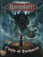 CIRCLE OF DARKNESS w/MAP VGC! Ravenloft 9493 AD&D Module TSR Dungeons & Dragons