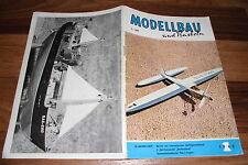 MODELLBAU und BASTELN  # 1/1962 -- Zeitschrift für DDR Heimwerker / Geburtstag ?