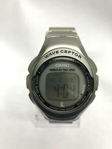 Casio WV-50H Wave Ceptor Radio Controlled Stainless Steel Digital Watch WV-50