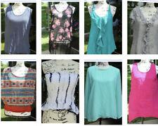 Women's Clothing Tops Mixed Lot - 8 pcs - Size Large
