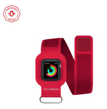 Twelve South ActionSleeve for Apple Watch | Armband for 38mm Apple Watch (red)