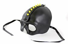 Skull Mask Mohawk Glow in the Dark Spike Cosplay Goth Mask Halloween Party