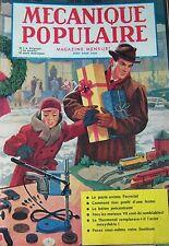 REVUE MECANIQUE POPULAIRE N° 104 PORTE AVION U.S.S FORRESTAL MOTEUR V8 1955