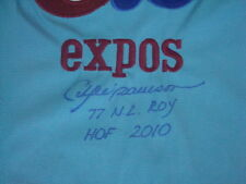 Andre Dawson AUTOGRAPH MONTREAL EXPOS MITCHELL & NESS JERSEY SIGNED 77 N.L. ROY