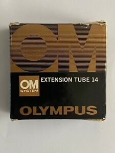 OLYMPUS OM SYSTEM EXTENSION TUBE 14...BOXED AND MINT CONDITION