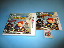 Scribblenauts Unmasked (Nintendo 3DS) XL 2DS Game w/Case & Manual