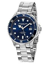 Stuhrling Regatta 792 02 2 Automatic Date Diver Stainless Steel Mens Watch