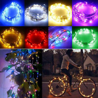 2/5/10m LED Silver Wire Fairy Christmas String Light DC 12V Indoor/Outdoor Decor