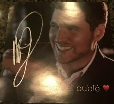 Michael Buble - LOVE CD Insert AUTOGRAPHED SIGNED