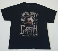 Johnny Cash Mens XL Black T Shirt