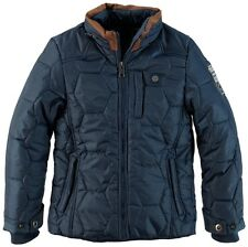 TWINLIFE: WARME WINTER GESTEPPTE JACKE,NAVY 553102/ 152