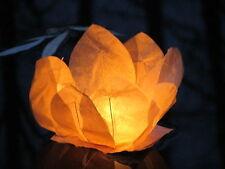 24x Wasserlaterne Lotus Schwimmlaterne Schwimmlicht Schwimmblume Dekoration NEU