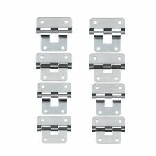 Set of 8 Take-Apart//Lift Off Hinge Door Hinges Silver