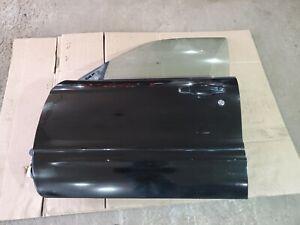 04-08 Subaru Forester XT Front Driver Left Door Java Black Pearl 18L