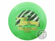 NEW Discraft Titanium Punisher 170-172g Green Gold Star Foil Driver Golf Disc