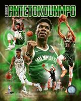 """2019 Giannis Antetokounmpo """"The Greek Freak"""" Milwaukee Bucks LICENSED 8x10 photo"""