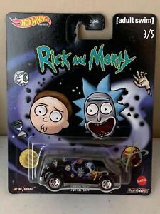Hotwheels Pop Culture Rick and Morty Super Van
