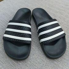 Mens Adidas Sliders size 9 in Black