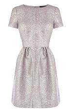 Oasis Mercury(Multi Silver) Rising Skater Dress 12