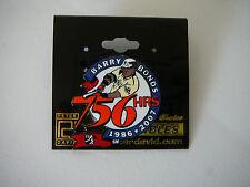 SF SAN FRANCISCO GIANTS BARRY BONDS 756 HOMERUN 1986-2007 PIN