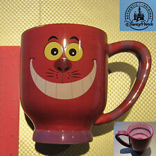 New Authentic Disney Parks Alice in the Wonderland Cheshire Cat Purple Mug Cup