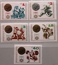 Bulgaria Bulgaria 1972 2185-89 2048-52 OLYMPIA Olympics Monaco Medals MNH
