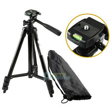 Digital Camera Camcorder Video Portable Tripod For Canon Nikon Sony Olympus