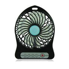 Mini À Piles Bureau Cool Glacière Ventilateur avec Rechargeable 18650 2200