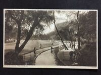 Vintage Postcard - Dorset #A07 - RP Bournemouth,  The Gardens - Children Playing