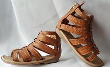 Carter's Girl's Gladiator Sandal Brown  size 5 Shoes B6
