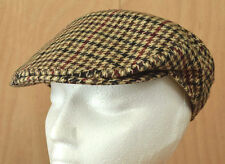 Dunn & Co. Tweed Rutland County Flat Cap 7/57 Cashmere-Wool Hat Made in Britain