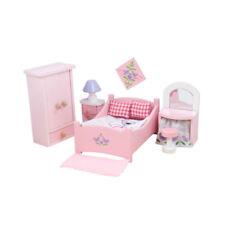 Le Toy Van ME050 Schlafzimmer Sugar Plum 1:12 für Puppenhaus Holz NEU!     #