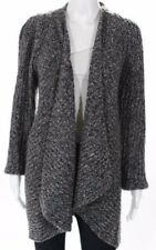 "EUC! 47"" bust! Eileen Fisher Speckled Tweed Cardigan Sweater XL 1X"