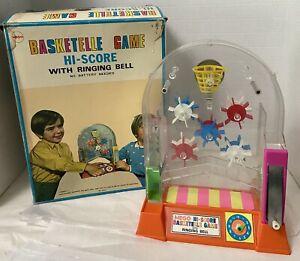 Vintage Mego Basketelle Basketball Game in Original Box Rare HTF Toy