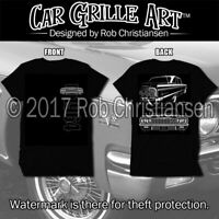Car Grille Art™ T-Shirt, 64 impala, 1964 Impala SS, Tee Shirt, Front and Rear