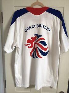 Official G.B. Team 2008 Bejing Olympic T- Shirt.