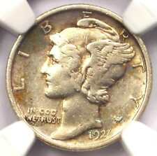 1921 Mercury Dime 10C Coin - Certified NGC XF Details - Rare Key Date!