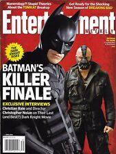 Entertainment Weekly Movie Magazine Batman The Dark Knight Rises Breaking Bad