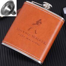 Portable Pocket Hip Flask Screw Cap Funnel Whiskey Alcohol Liquor Bottle Outdoor