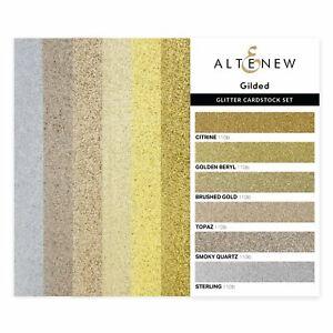 Altenew Gilded Glitter Cardstock Set  24pk