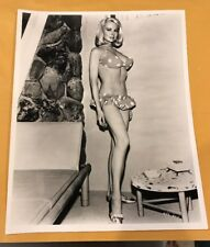 JOI LANSING ACTRESS VINTAGE 8 X 10 PHOTOGRAPH FROM IRVING KLAWS ARCHIVES