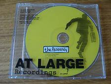 CD Single: The Research : C'mon Chameleon : Promo